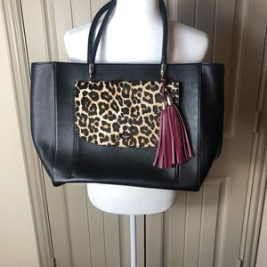 NWOT Kate Spade Longacre Court Haircalf Bag